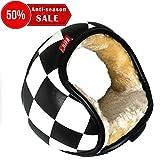 Ear Muffs for Women and Men Warm Plush Foldable Compact Soft Ear Warmers Adjustable Wrap Winter Earmuffs