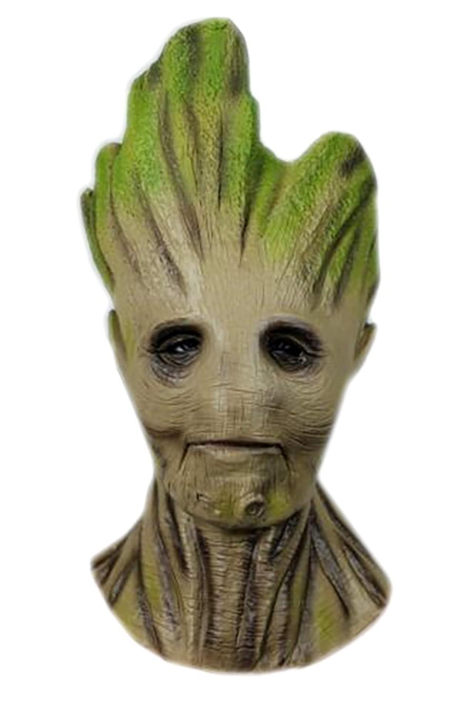 Groot Tree Adult Head Mask Prop - DeluxeAdultCostumes.com