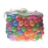 toyofmine Ocean Ball Baby Kid Pit Toy Game Swim Pool Soft Plastic Ball (500 pcs)