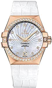 Omega Constellation Automatic Chronometer 35mm Women's Watch 123.58.35.20.55.003