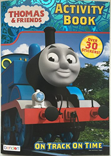 Thomas The Tank Engine Stickers (Thomas & Friends On Track On Time Coloring and Activity Book - Includes Over 30 Stickers)