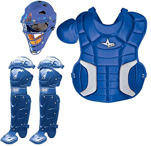 ALL-STAR CK79PS Player's Series Catcher's Kit - Royal by All-Star