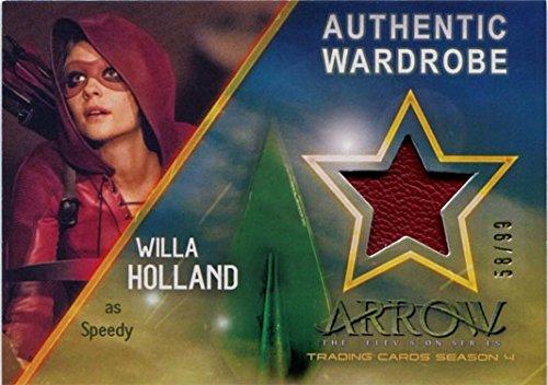 Arrow Season 4 Costume Wardrobe Card M12