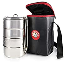 4 Tier Insulated Tiffin with Thermo Insulated Bag