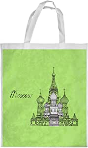 Landmarks - Moscow Printed Shopping bag, Large Size