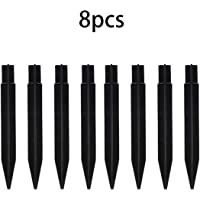 10 Pcs Tent Camping Stakes Pegs Pins Plastic ABS Heavy Duty M/&C