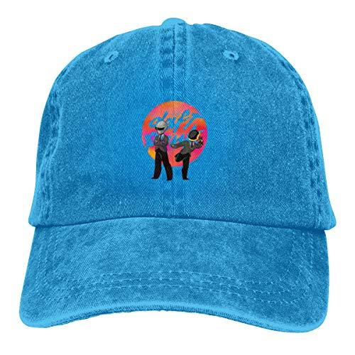 (CJGlinzhanymx Daft Punk Cowboy Hat Blue)