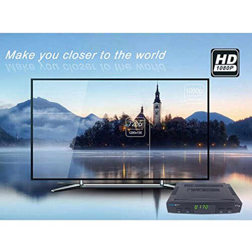 (Kytree Original Freesat V7 HD Satellite Receiver Full HD 1080P + 1PC DVB-S2 HD)