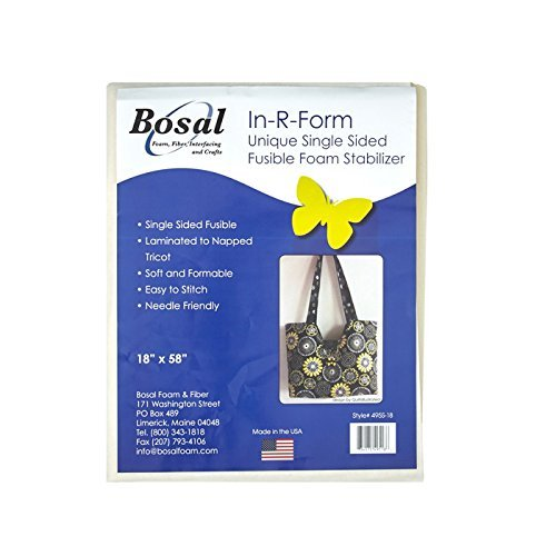 (Bosal R-Form Single Sided Fusible 1/2 Yard Foam Stabilizer Blank)