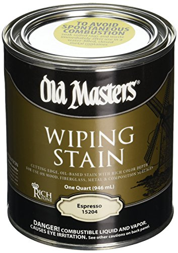 (Old Masters 15204 Qt Espresso Wiping Stain 240)
