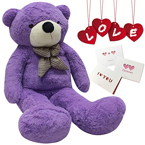 24 inch Big Cute Teddy Bear Cotton Plush Animals for Girl Children Girlfriend Valentine