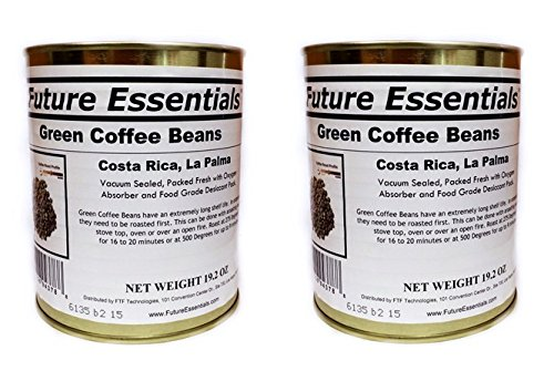 Future Essentials Green Coffee Beans (2-Pack)