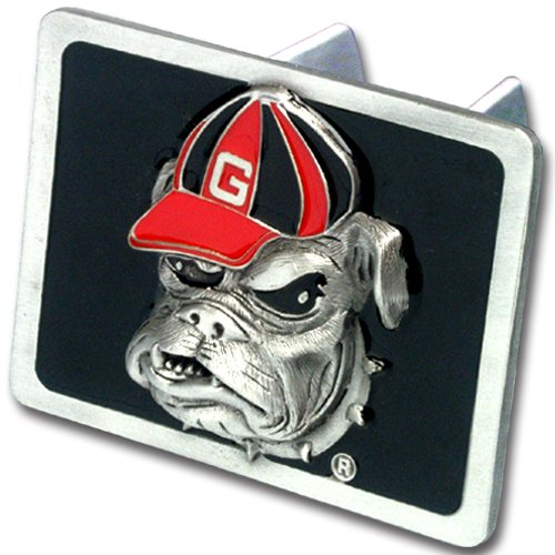 Georgia Bulldogs Trailer Hitch Cover (NCAA Georgia Bulldogs Trailer Hitch Cover, Class III)
