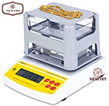 NEWTRY Digital Electronic Precious Metal Gold Purity Analyser Meter Measuring Machine Tester Testing Machine Density Tester Karat Detector (AU-900K)