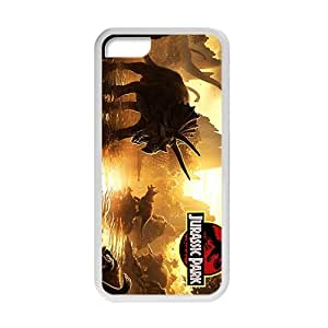 Nice Jurassic Park Design Snap On Hard Plastic White For LG G3 Phone Case Cover