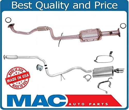 (Mac Auto Parts 132997 2.2L Vin (4) Cavalier Sunfire Flex Converter Muffler Exhaust Pipe System)