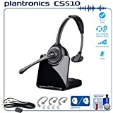 Plantronics CS510 Professional Wireless Office Headset System Bundle