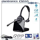Best Price Plantronics Cs510 Professional Wireless Office Headset System Bundle