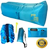 Features:    100% Brand New and High Quality. Durable and portable. Easy to be cleaned and dries quickly after being wet. Strong inflatable lounger that can withstand weight up to 450 lbs.   Items Included:   1 Inflatable Lounger Couch   1 Portable ...