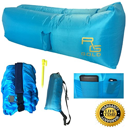 Inflatable Lounger Pockets Holder Tie Down product image