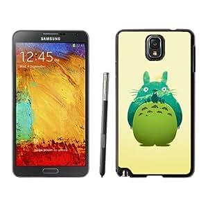 Fashion Designed My Neighbor Totoro 4 Black Samsung Galaxy Note 3 N900A N900V N900P N900T Phone Case