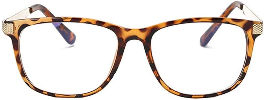 ka18082302 Mode Brillen Brillengestell Junkai Quadratische Brille f/ür M/änner Frauen