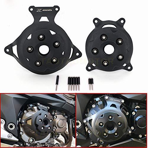 XuBa Motorcycle Engine Stator Cover Engine Guard Protection Side Shield for Kawasaki Z750 Z800 2013-2017: