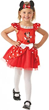 Rubies Minnie Mouse Red Bailarina - Disney - Childrens Disfraz ...
