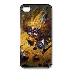 iPhone 4 4s Cell Phone Case Black League of legends Heimerdinger Custom KHJSFNUJF8359
