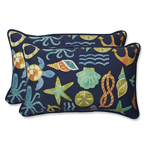 Pillow Perfect Outdoor Seapoint Rectangular Throw Pillow, Ne