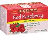 Red Raspberry Herbal Tea. 1 Case. 120 tea bags
