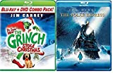 Dr. Seuss' How The Grinch Stole Christmas (Blu-ray + DVD) & The Polar Express - Holiday Pack