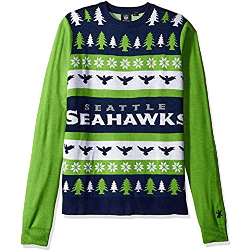 seattle seahawks one too many ugly sweater extra large - Seahawks Christmas Sweater
