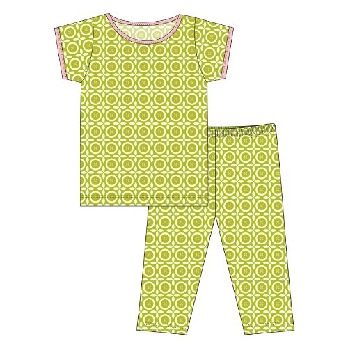 Print Pajama Set (Baby) - Meadow Flower Lattice - 6-12 Months ()