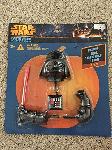 Star Wars Darth Vader Halloween Pumpkin Push-Ins