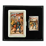 Cigarette Case Oil Lighter Gift Set Vintage Poster D-108 The All Fun Show Happy Hooligan An Uprising In China