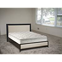 Mattress Solution, 10 Medium Plush Pillowtop Orthopedic Fully Assembled  Mattress, Full Size, Sunset Collection