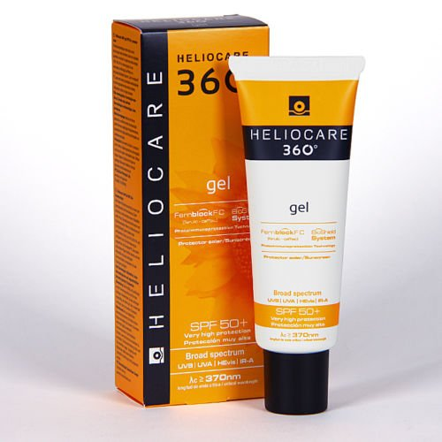 Amazon.com : HELIOCARE 360 GEL SPF50+ 50ml Beauty Skincare ...