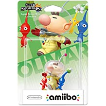 NINTENDO La figurine Amiibo Olimar & Pikmin est jouable dans Amiibo Touch & Play Wii U, Ace Combat Assault Horizon Legacy + 3DS, Captain Toad Treasure Tracker Wii U, Hyrule Warriors Wii U, Mario Kart 8 Wii U, Mario Party 10 Wii U, Super Mario Maker Wii U, Super Smash Bros Wii U & 3DS, Yoshi's Woolly World Wii U. Compatible Wii U / New 3DS - 3DS XL / 2DS / 3DS.