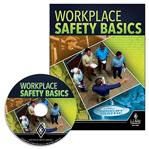 Workplace Safety Basics English & Spanish Training DVD Video- J. J. Keller & Associates - High-Level Overview of Many Safety topics: Slips, Trips, Falls, PPE, Electrical Safety, Loto, HAZWOPER & More (Best Safety Training Videos)