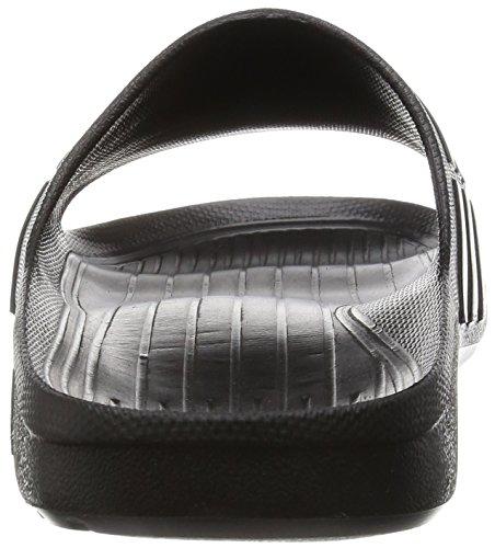 adidas Duramo Slide Chanclas, Unisex Adultos Negro (Cblack/Cblack/Cblack)