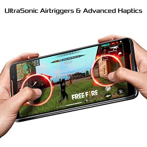 "ASUS ZS600KL-S845-8G128G ROG Gaming Smartphone 6"" FHD+ 2160x1080 90Hz Display - Qualcomm SD 845 - 8GB RAM/128GB Storage - LTE Unlocked Dual SIM (GSM Only), Black"
