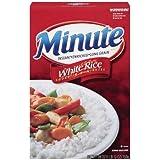 Minute Rice, Long Grain White Rice, 28oz Box (Pack of 4)