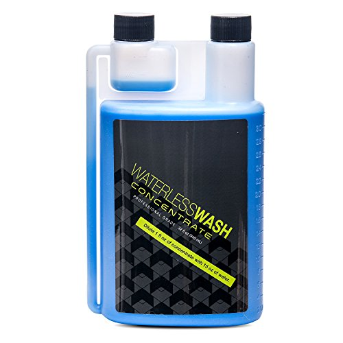 Armour Car Care Waterless Car Wash Cleaner Concentrate (32 oz) Safe for Any Vehicle Surface – Cars, Trucks, Motorcycles, RVs, ORVs, Fiberglass or Wood Boats and Airplanes