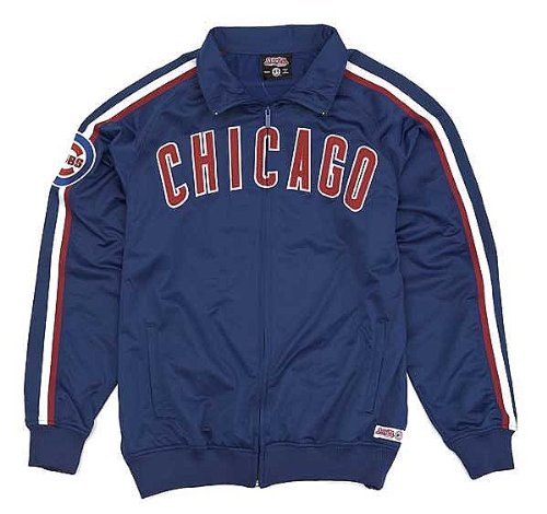 Chicago Cubs Royal Toddler Track Jacket by Stitches Select Infant / Toddler / Youth Size: 3 Toddler