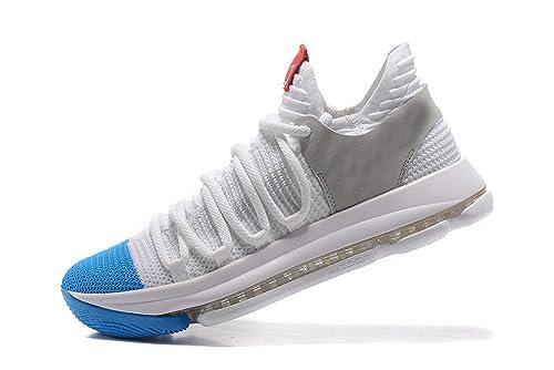 Zoom KD 10 - Zapatillas de Baloncesto para Hombre, Color Blanco ...