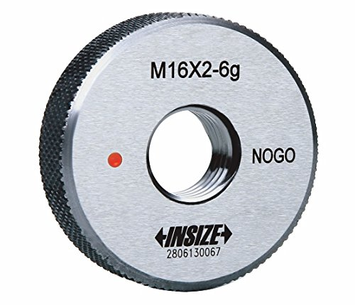 INSIZE 4120-5N Thread Ring Gage, Class 6g, NOGO, ISO1502, M5 x 0.8 mm INSIZE CO. LTD