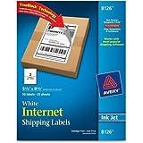 8126 Avery InkJet Shipping Labels - 5.50
