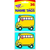 TREND ENTERPRISES INC. NAME TAGS SCHOOL BUS 36/PK (Set of 24)
