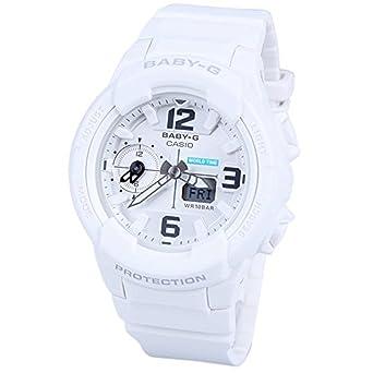 18a8d3549c77 Casio Baby-G BGA230-7B White   White Resin Analog Digital Quartz Women s  Watch